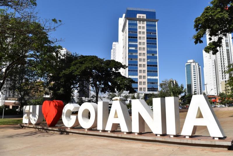 Goiânia capital de Goiás, longe do mar mas perto da natureza