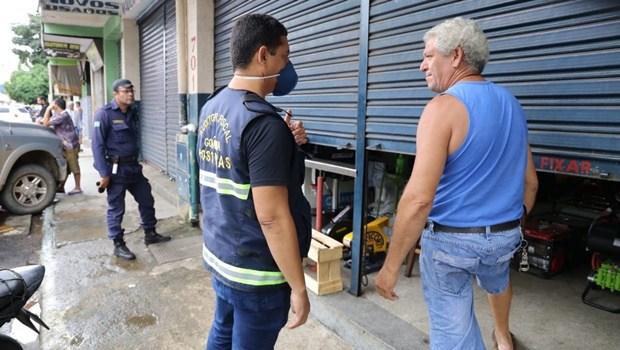 Fiscalização em Campinas | Foto: Prefeitura de Goiânia