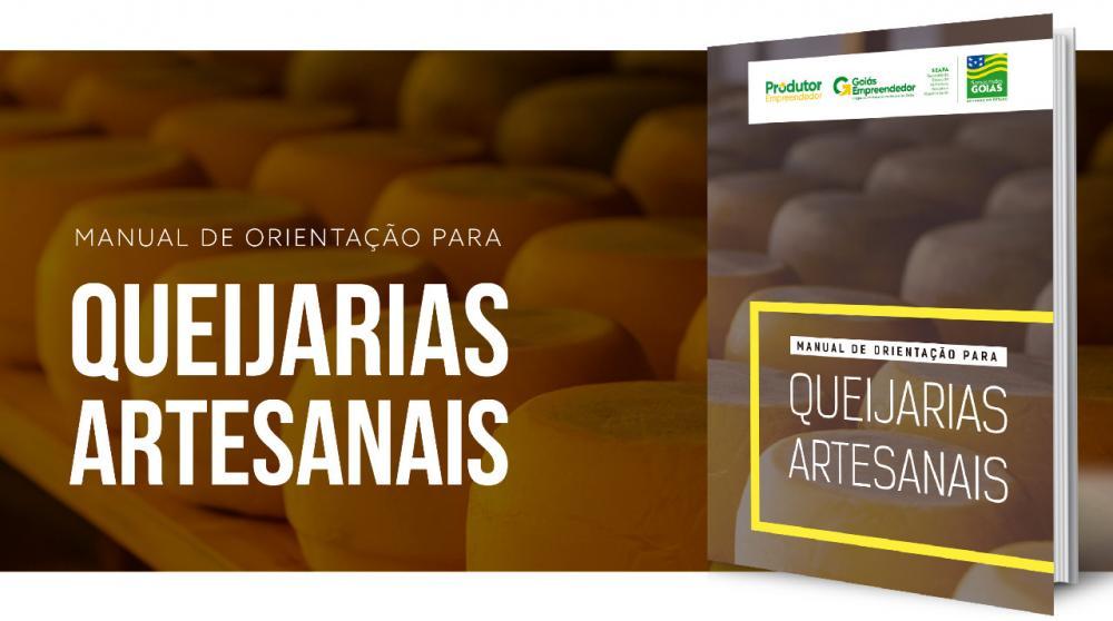 Acesse o Manual de Orientação para Queijarias Artesanais (copie e cole a URL): https://www.agricultura.go.gov.br/files/Cartilhas/CARTILHA_QUEIJARIA-SITE.pdf