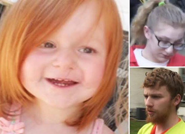 Segundo informações do The Sun , a pequena foi internada após ser brutalmente espancada por Jahrid Burgess, de 19, namorado da mãe.