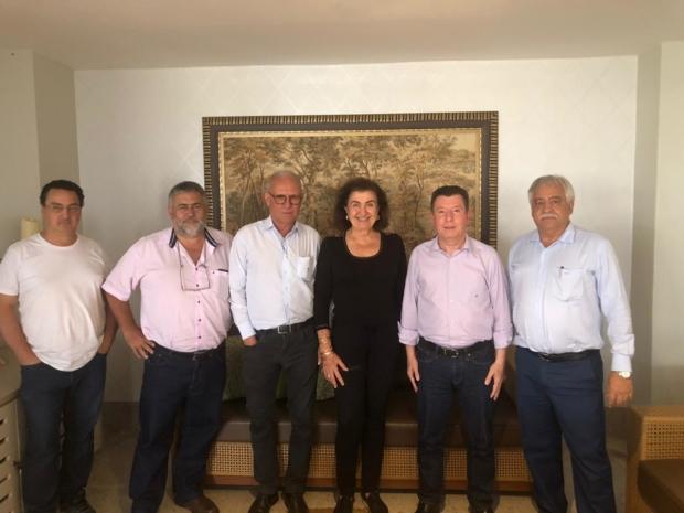 Cida Tomazini , José Nelto e outros líderes | Foto: Divulgação do Podemos