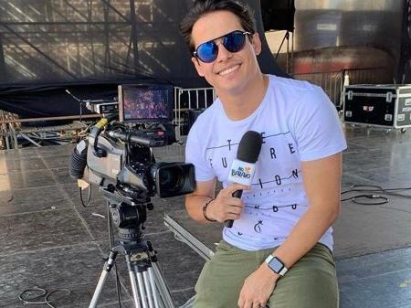 Waldemar Neto - Apresentador e animador de No Balaio da TV Anhanguera