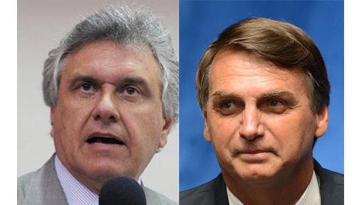 """O gestor de Goiás é apresentado como """"correto"""" e o gestor do Brasil como um perigo para os brasileiros."""