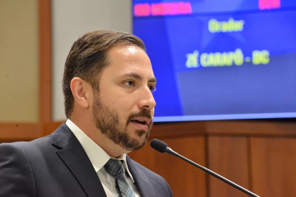 Deputado estadual José Prado Carapô / Foto: ALEGO