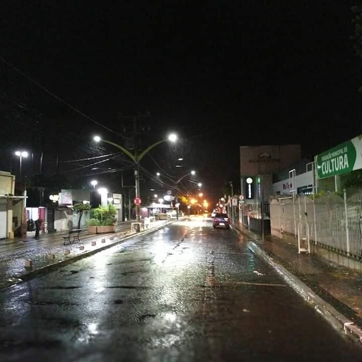 Rio Verde-GO a noite / Foto: Divulgação