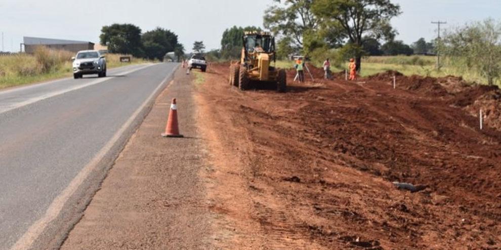 A obra vai proporcionar mais segurança em um trecho onde já aconteceram vários acidentes