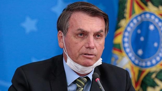 Presidente Jair Bolsonaro e do Supremo Tribunal Federal, ministro Dias Toffoli, fazem declaração à imprensa no Planalto